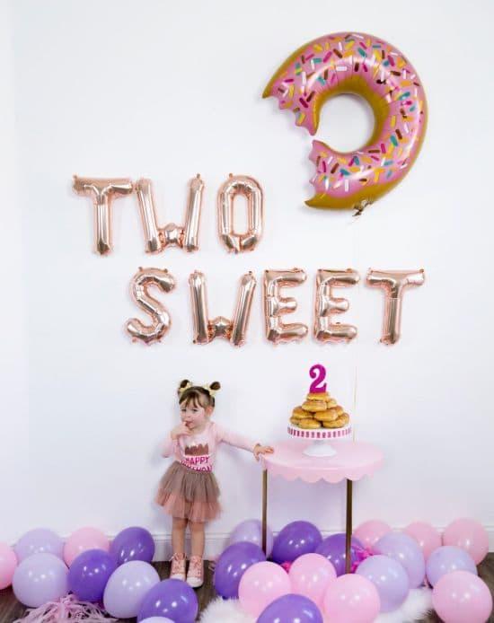 Glückwünsche zum Geburtstag für 2-Jähriges Mädchen