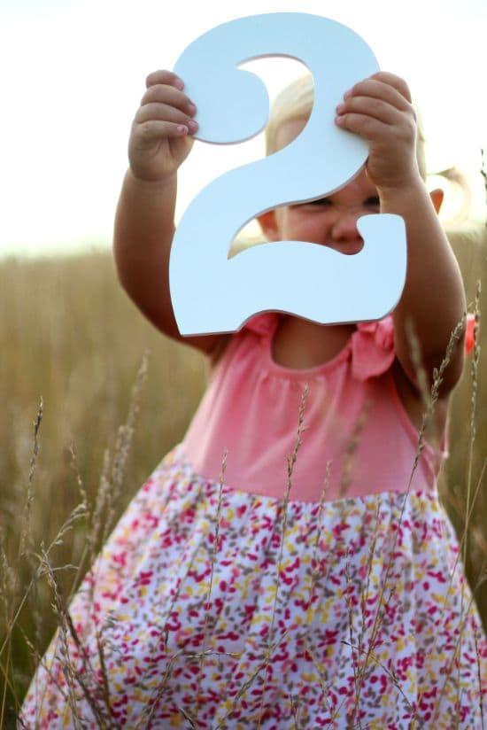 Schöne Sprüche zum 2. Lebensjahr für das Patenkind